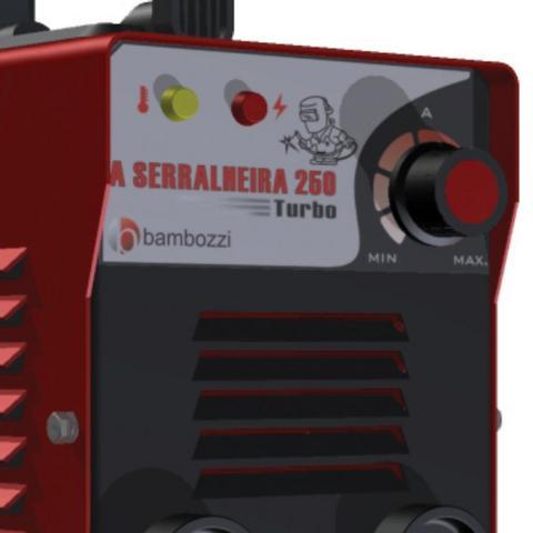 INVERSORA BAMBOZZI 250 TURBO SERRALHEIRO