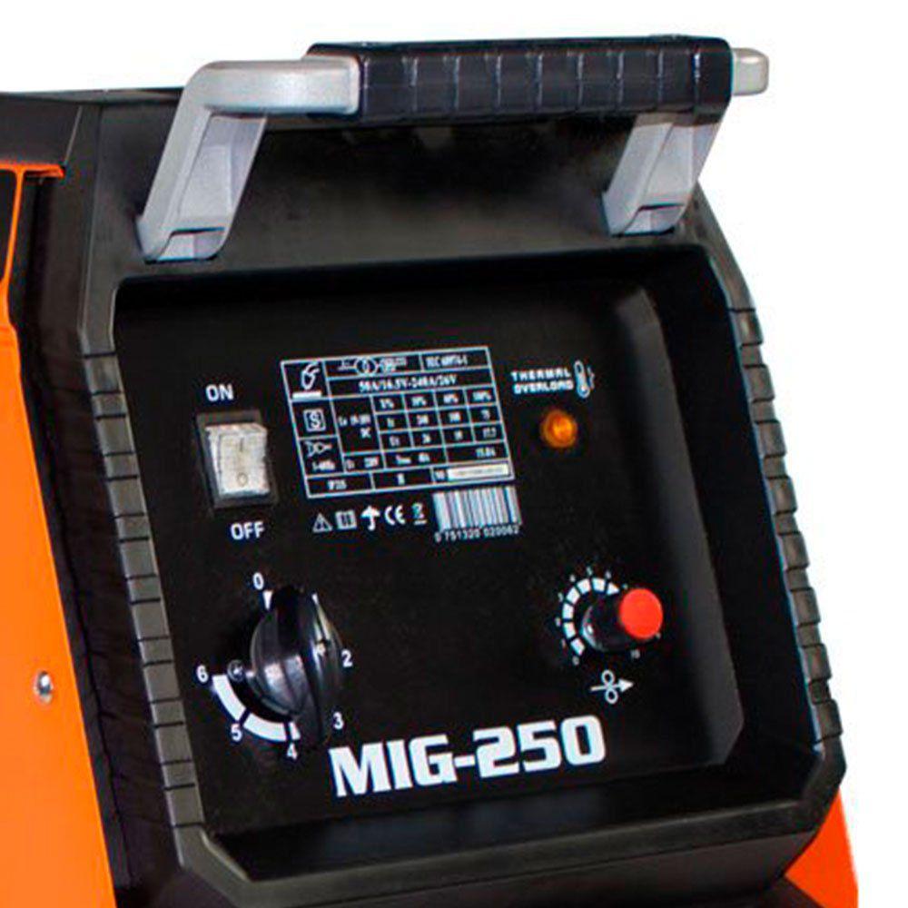 Máquina de Solda MIG/MAG 250A Monofásico - SMARTER-MG-250