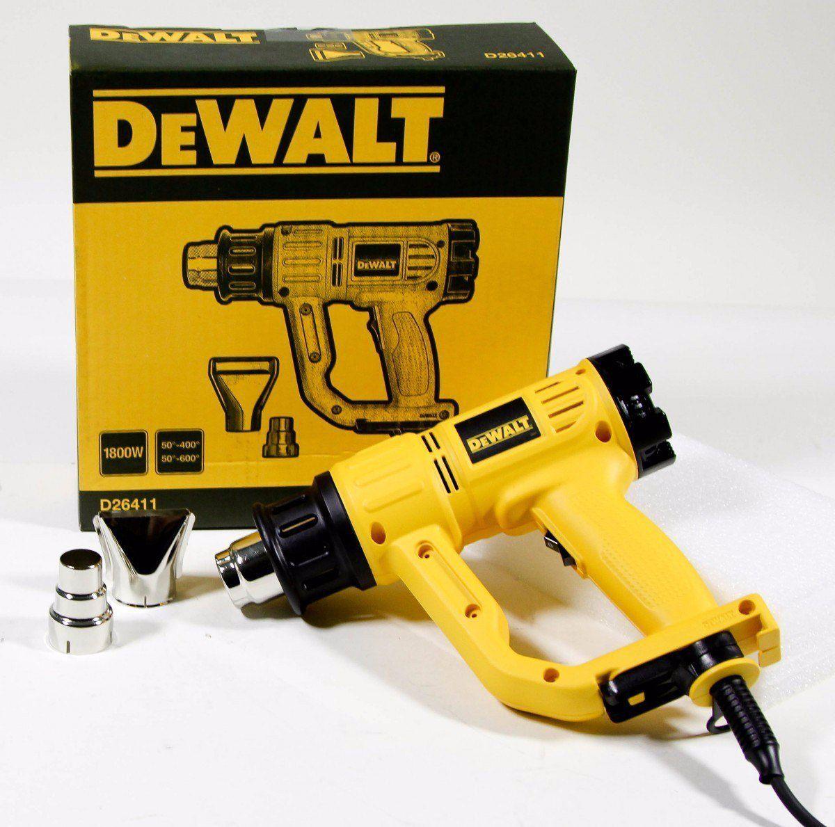 Soprador Térmico Pistola 2000w - 2 Vel. D26411 DEWALT 220v