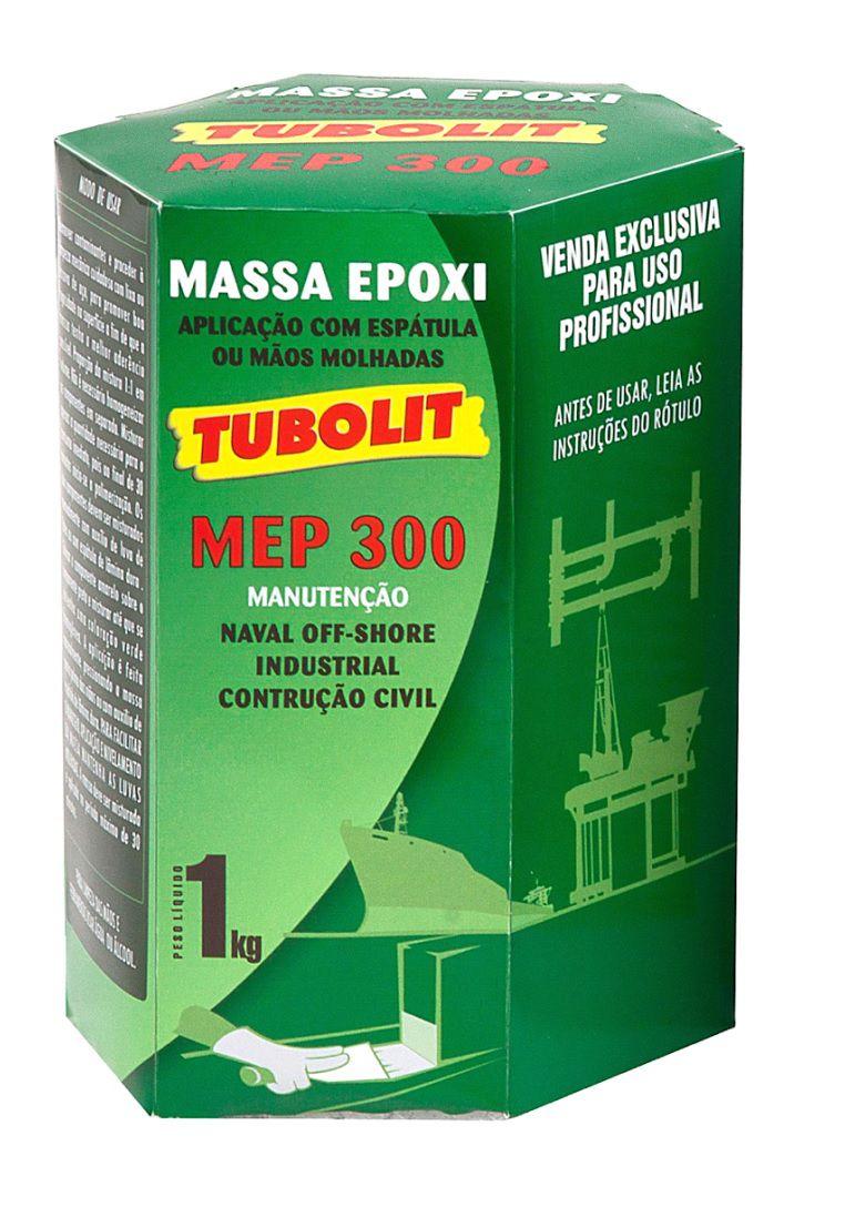 Tubolit MEP300 - Massa Epoxi  Naval - Industrial  - Const. Civil