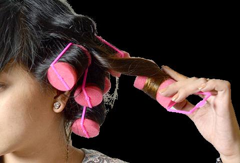 Acessório de Cabelo Modelador de Cachos - Bobs Soft Bouncy Curls