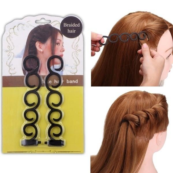 Acessório De Cabelo Para Trança Fácil - Braided Hair