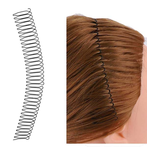 Penteados de Cabelo - Tiara Zig Zag