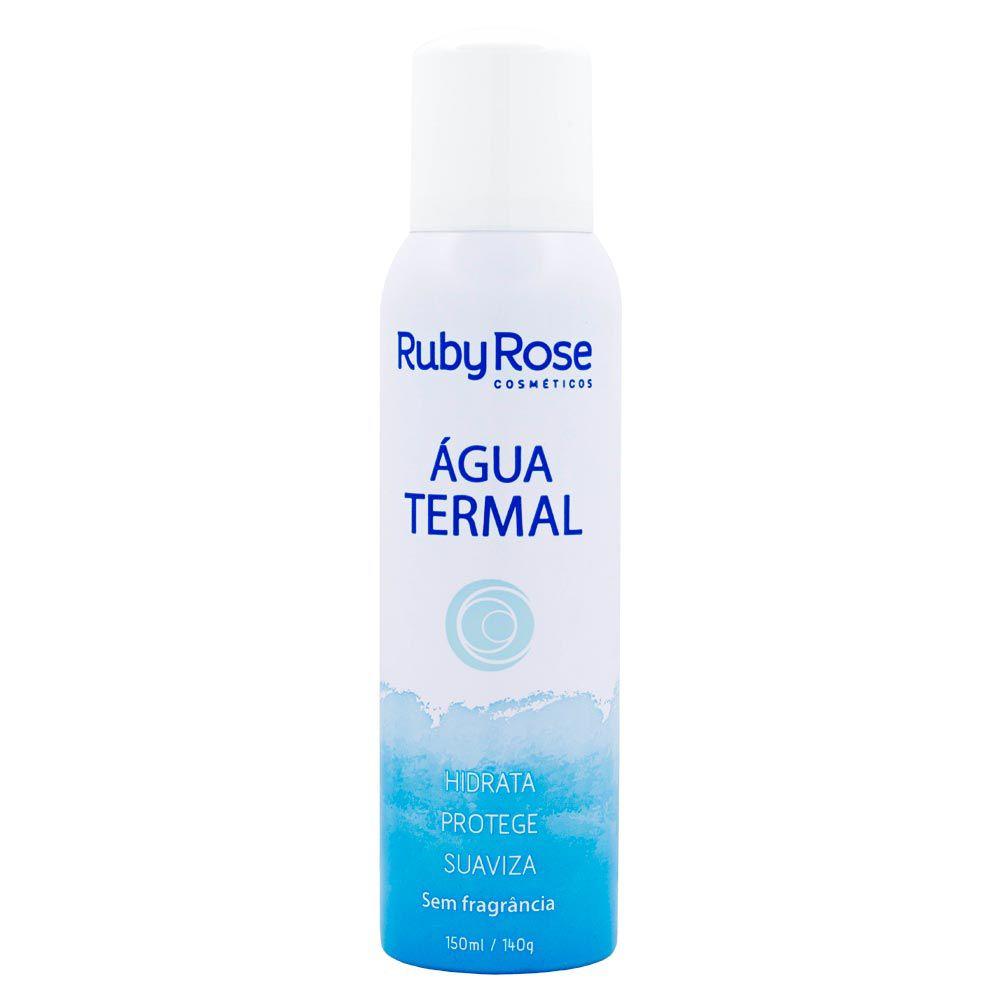 Água Termal Hidratante Facial Ruby Rose Sem Fragrância HB-306