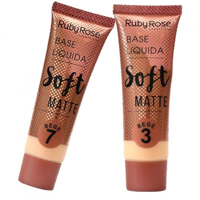 Base Líquida Soft Matte Ruby Rose 29ml