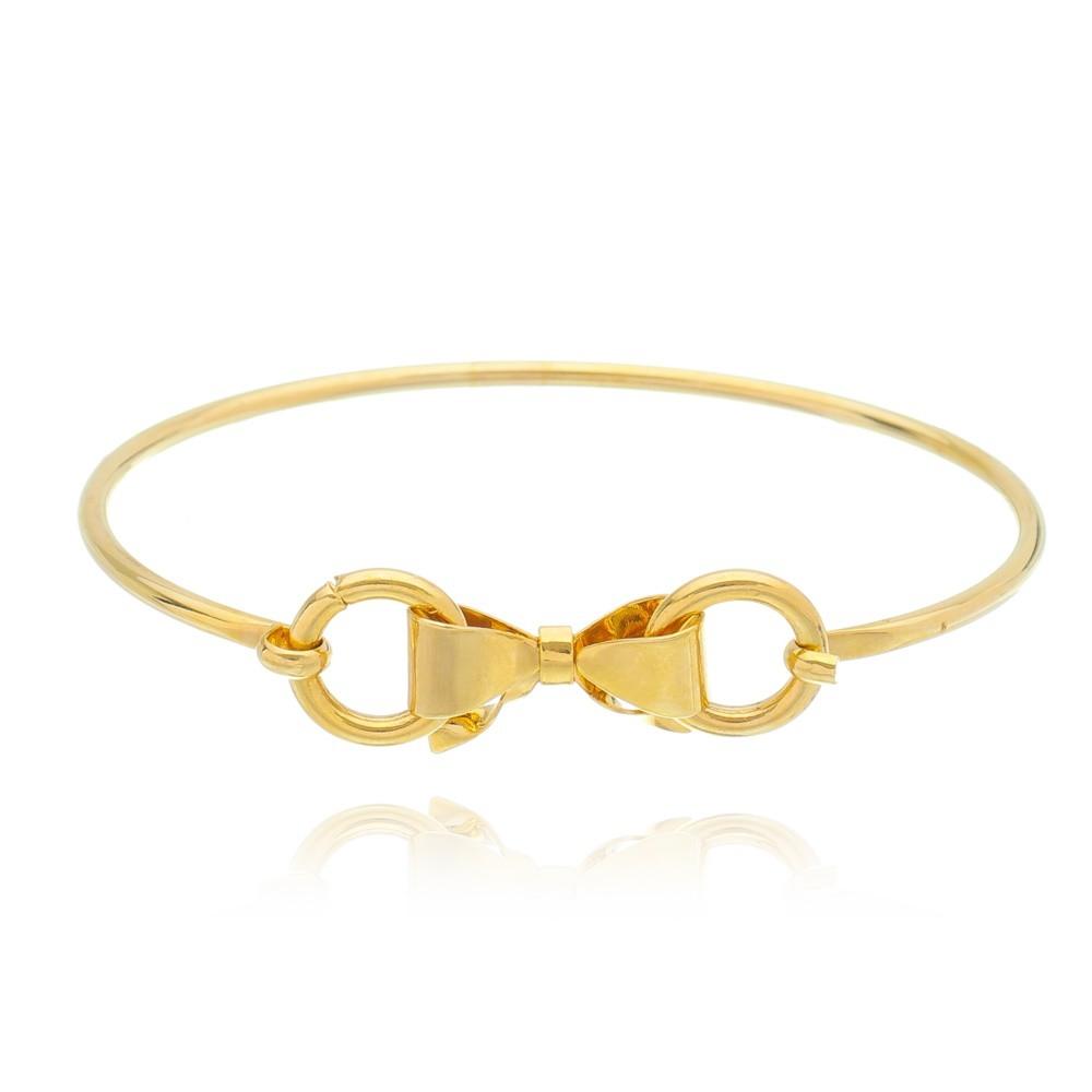 Bracelete Laço - Banhado a Ouro 18k