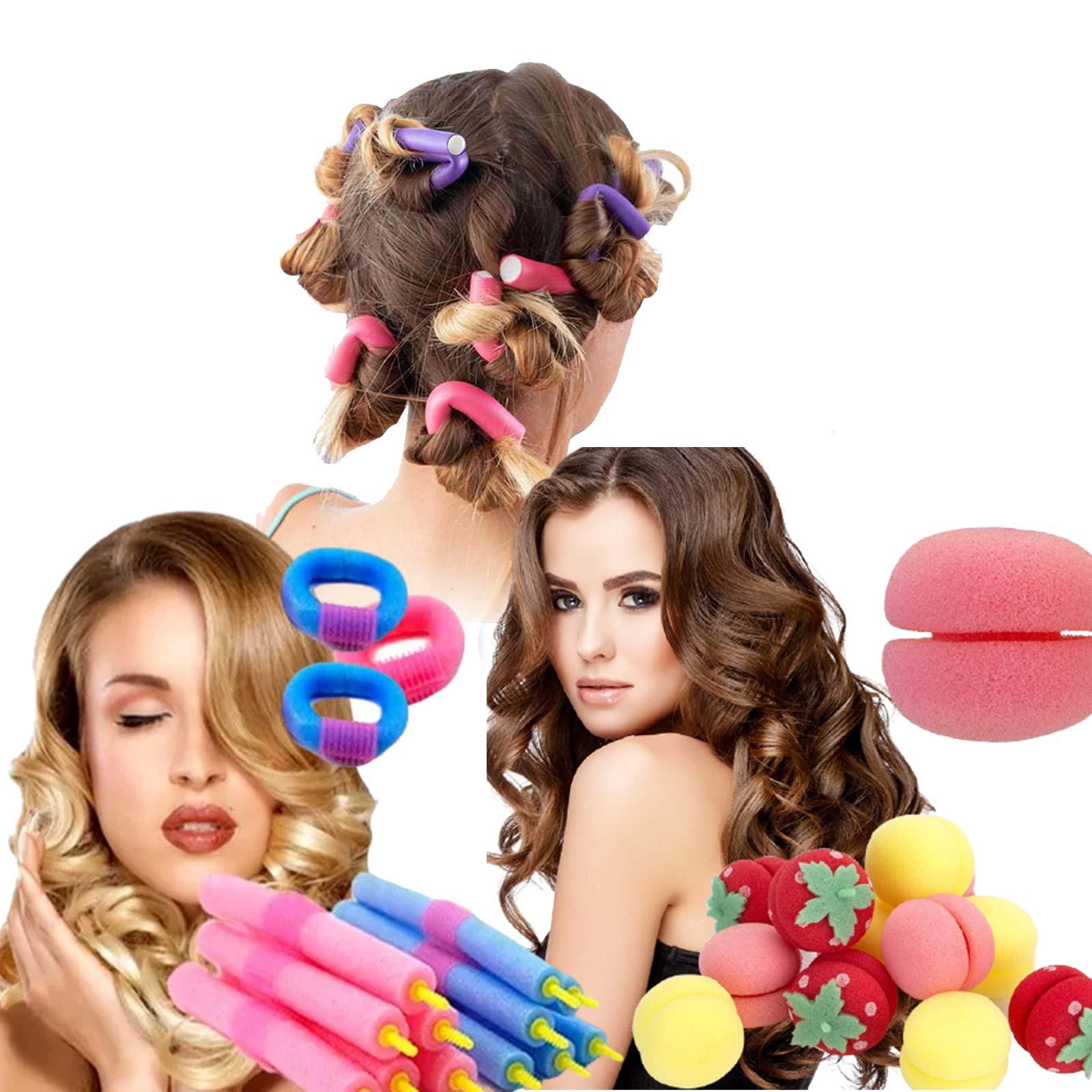 Cabelos cacheados - Acessórios Modeladores de Cachos de cabelo
