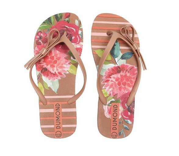 Chinelo Dumond Floral Nude