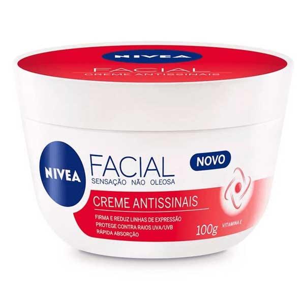Creme Facial Nivea Antissinais Nivea