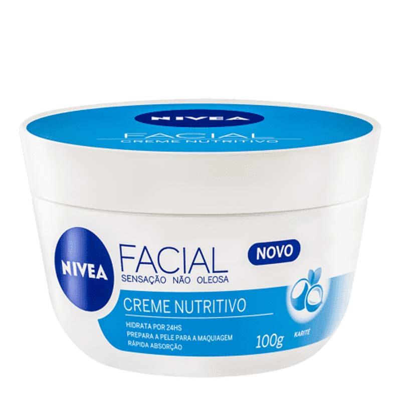 Creme facial nutritivo Nivea 100g
