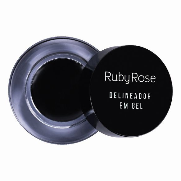 Delineador Em Gel Black  Ruby Rose HB-8481