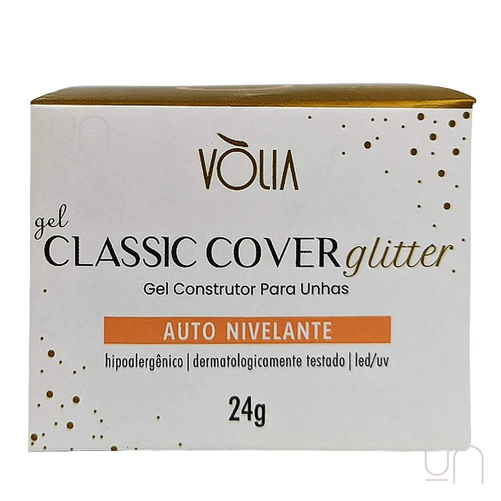 Gel Classic Cover Glitter Auto Nivelante Vòlia