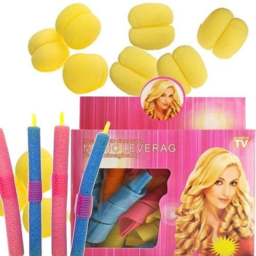 Kit Acessórios Modeladores De Cachos Cabelo Hair Curler