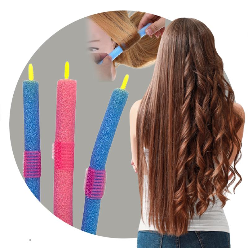 Kit Acessórios para Cabelo Modelador de Cachos+Volume para Topete+Trança Hair Styling