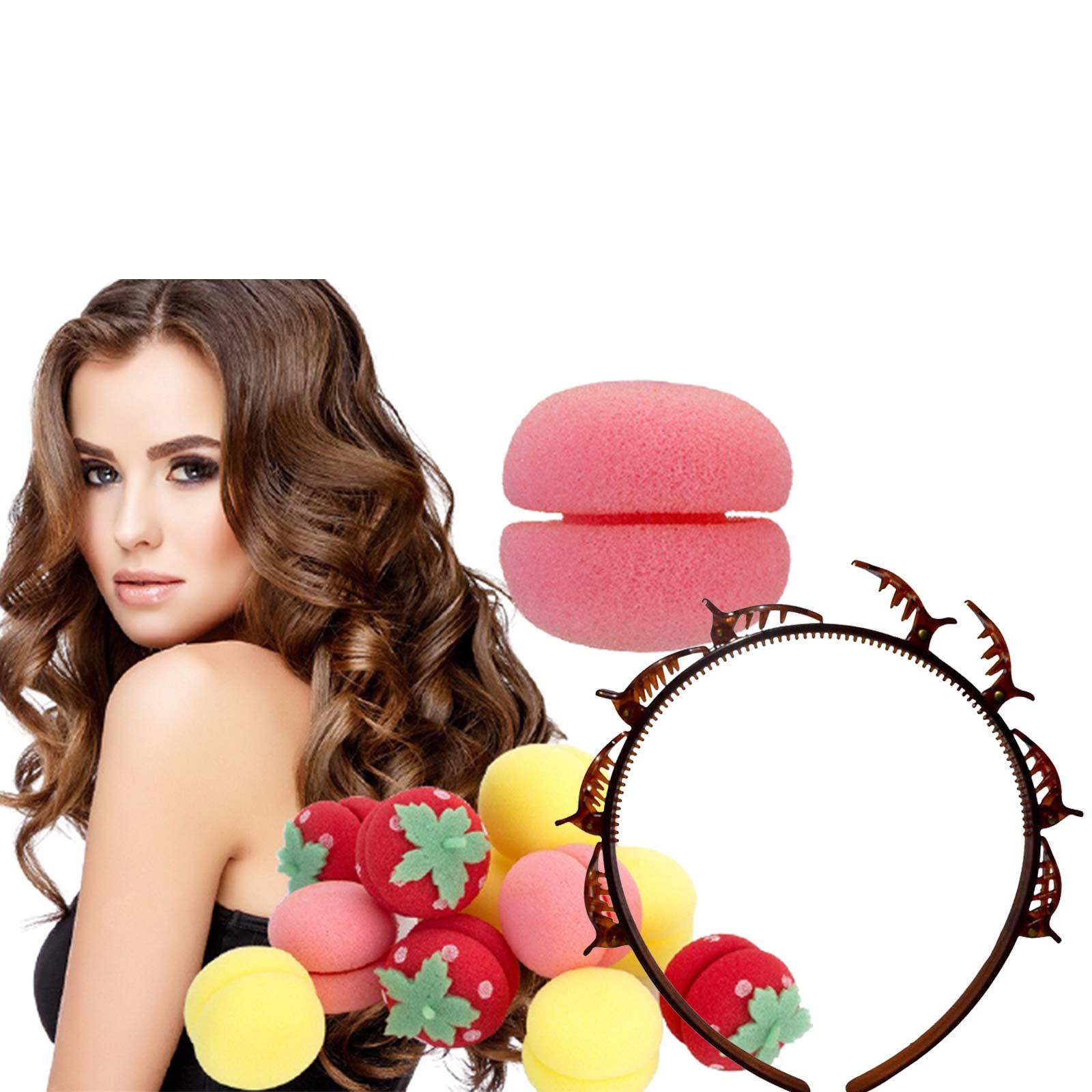 Kit de Cabelo Tiara Hair twister + Modelador de Cachos