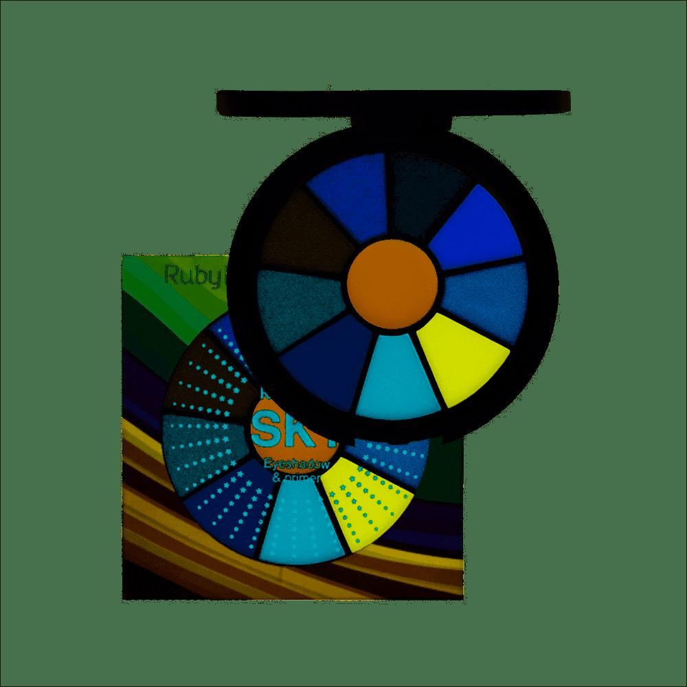Kit de sombras + primer SKY Ruby Rose  HB-9985/5