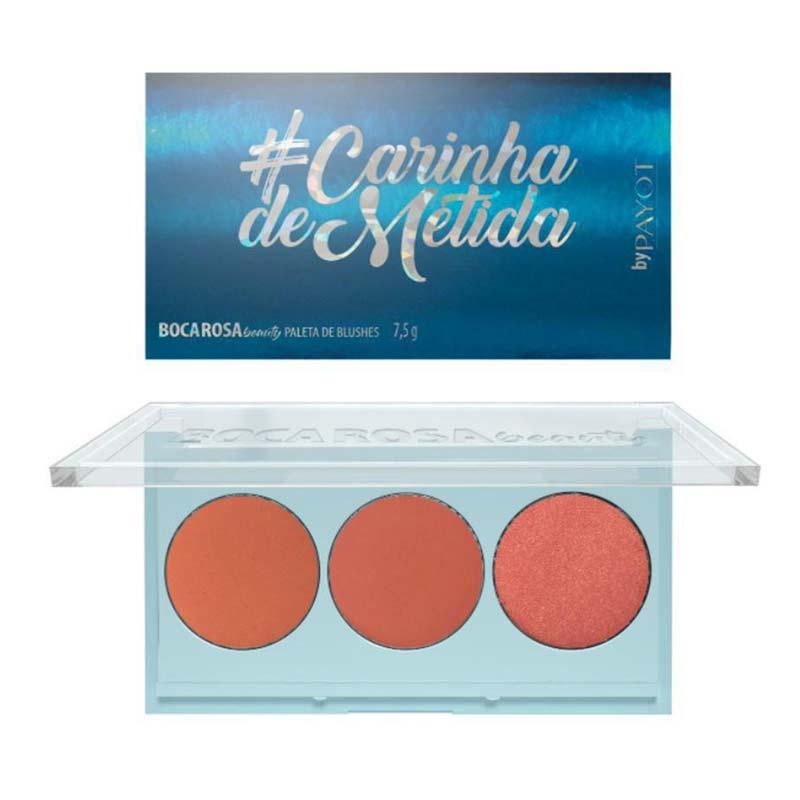 Paleta de Blush Carinha de Metida Boca Rosa 7,5g
