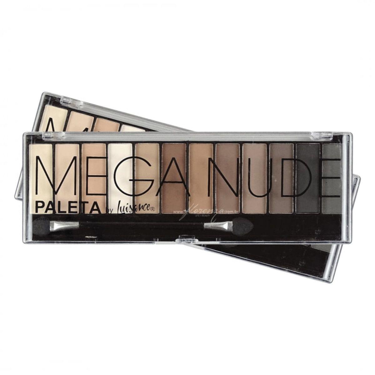 Paleta De Sombras Mega Nude Luisance L689