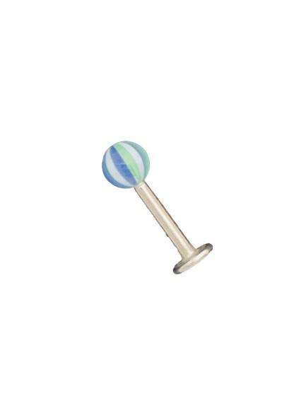 Piercing Labret Aço 1.5 cm