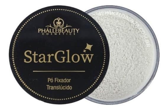 Pó Fixador Translúcido StarGlow PhállBeauty