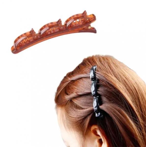 Presilha  Twist Para Penteados de Cabelo