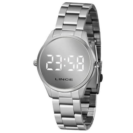 Relógio Digital Feminino Lince MDM4617L BXSX Prata