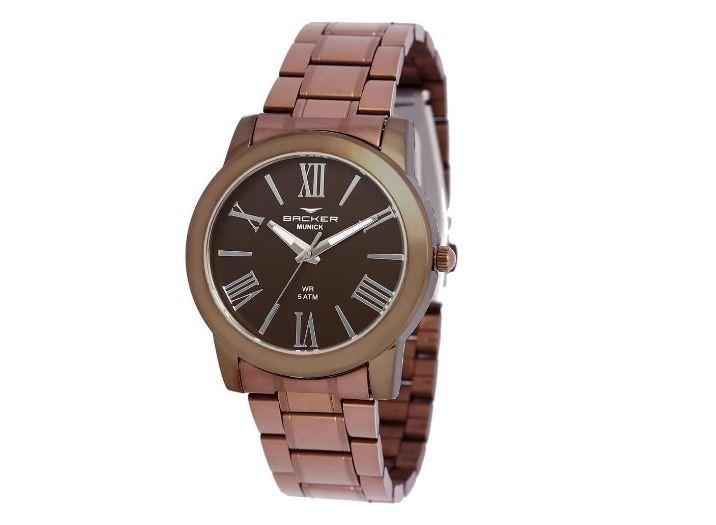 Relógio Feminino Backer Germany 3634113F MR Marrom