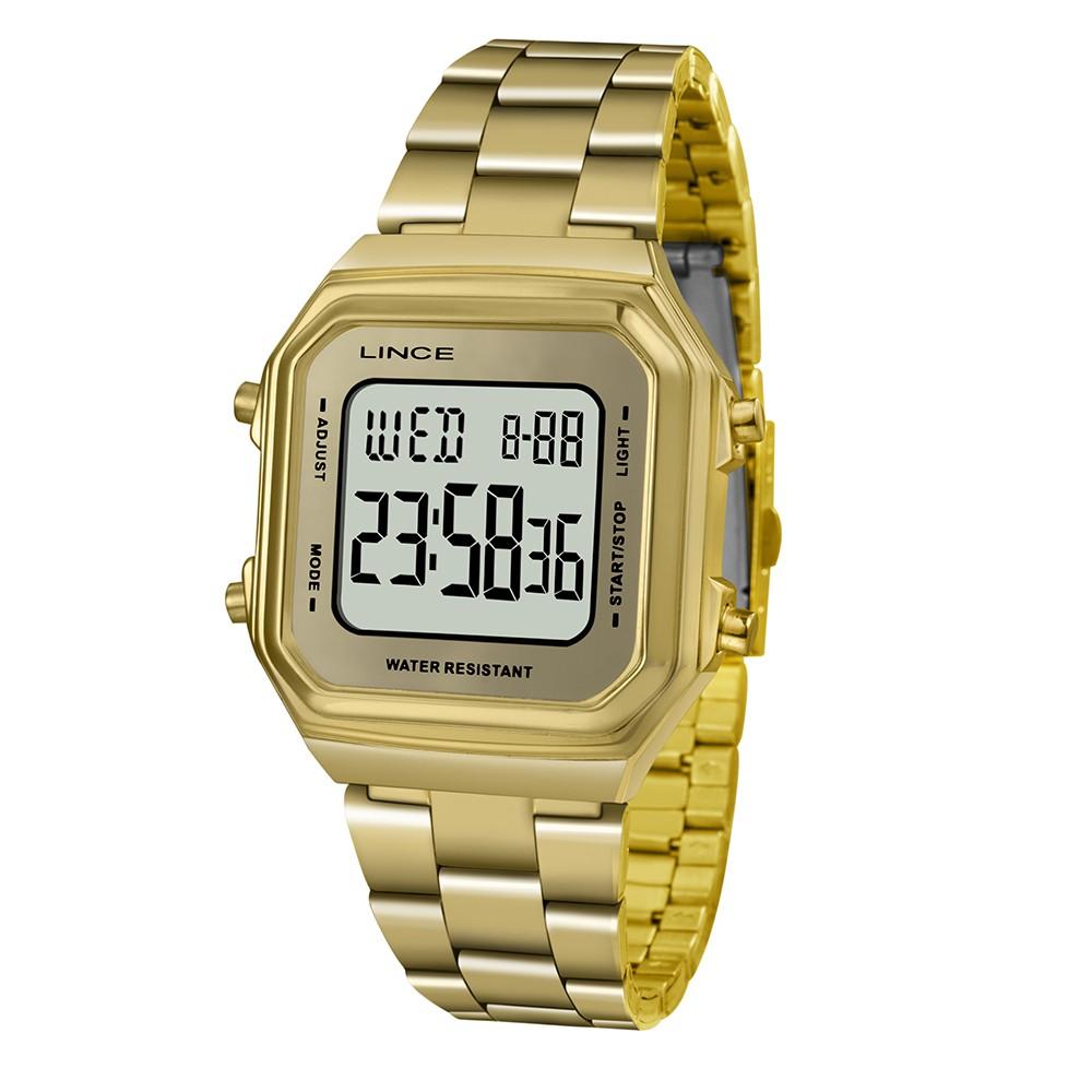 Relógio Feminino Digital Lince SDG616L BXKK