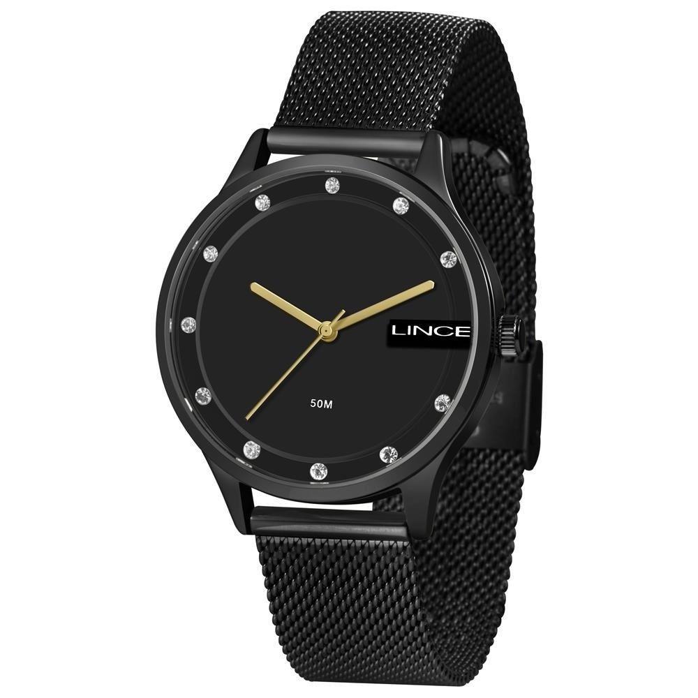 Relógio Feminino Fashion Lince LRN4623L P1PX Preto