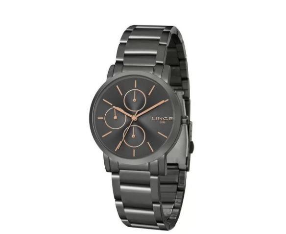 Relógio Feminino Lince Classic LMY5468L G1GX Grafite