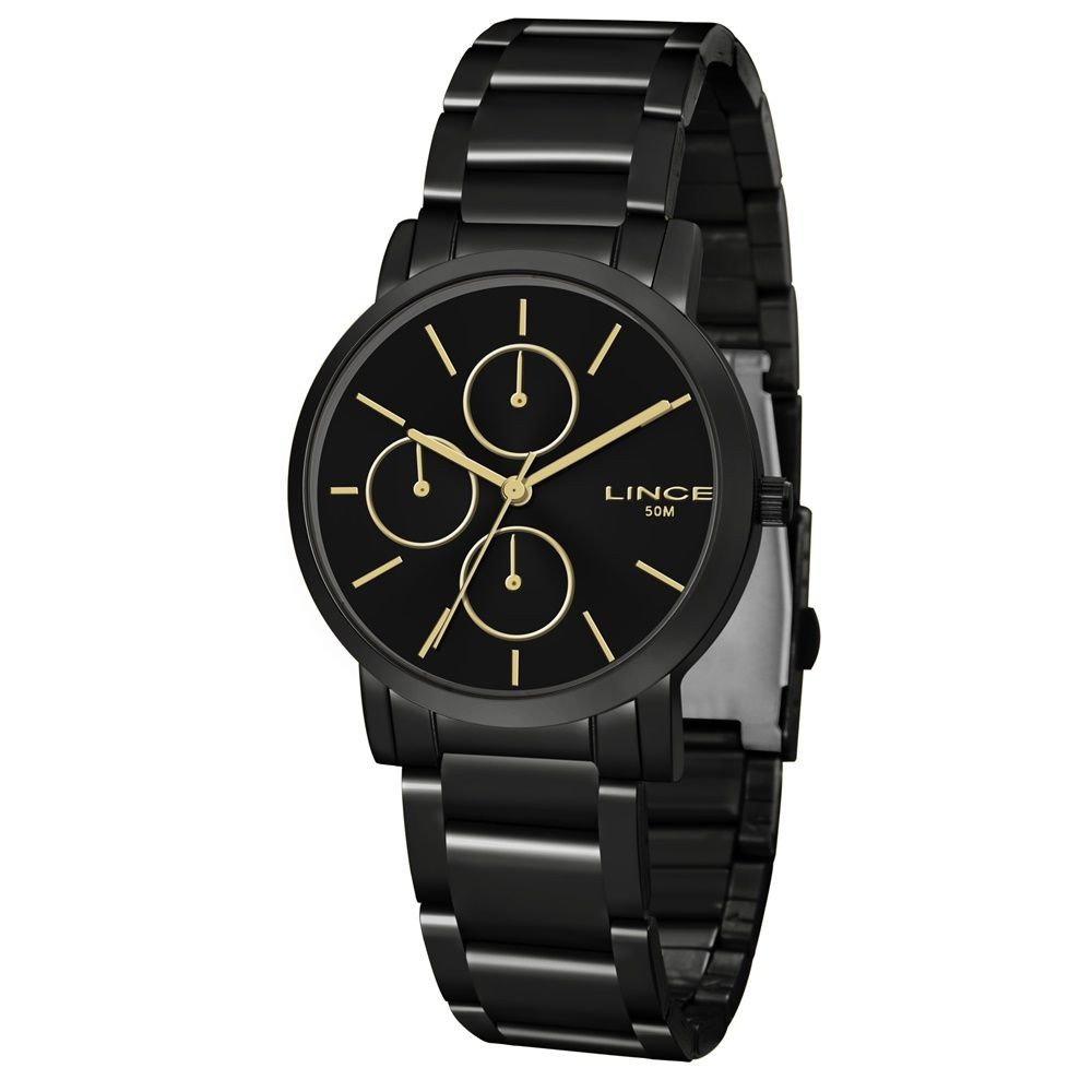 Relógio Feminino Lince LMN4568L P1PX Preto