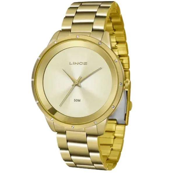 Relógio Feminino Lince LRG619L C1KX Dourado