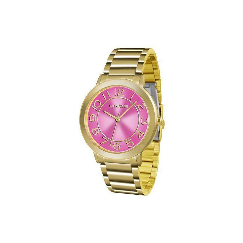 Relógio Feminino Lince LRGH046L R2KX Dourado e Rosa