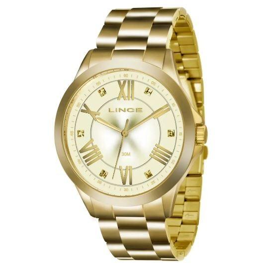 Relógio Feminino Lince LRGJ130L C3KX Dourado