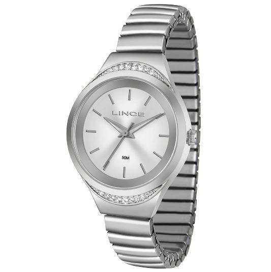 Relógio Feminino Lince LRM4565L S1SX Prata
