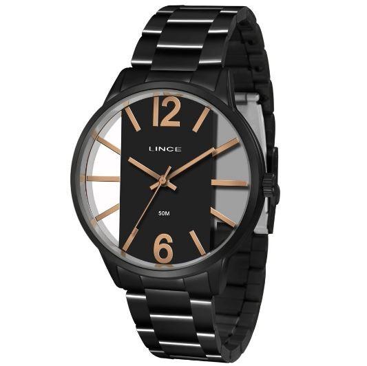 Relógio Feminino Lince LRN623L P2PX Preto