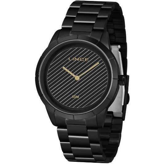 Relógio Feminino Lince LRN625L P1PX Preto