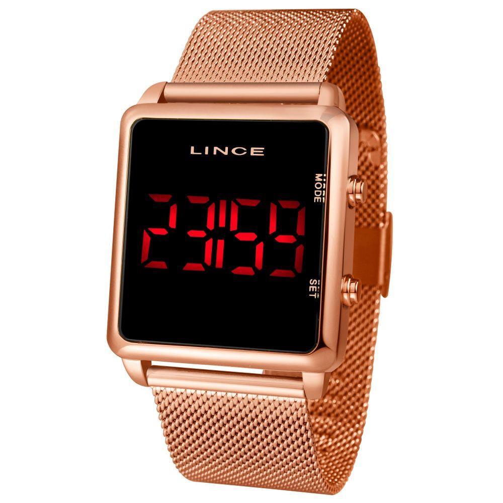 Relógio Feminino Lince MDR4596L PXRX Rosé