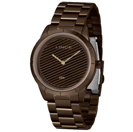 Relógio Feminino Lince Urban LRB625L N1NX Marrom