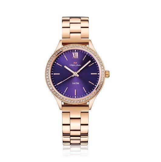 Relógio Feminino Social Philiph London PL81015113F Rosé