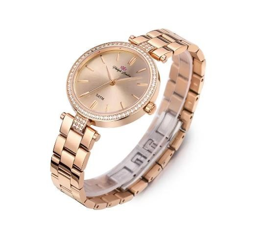 Relógio Feminino Social Philiph London Rosé PL81009113F
