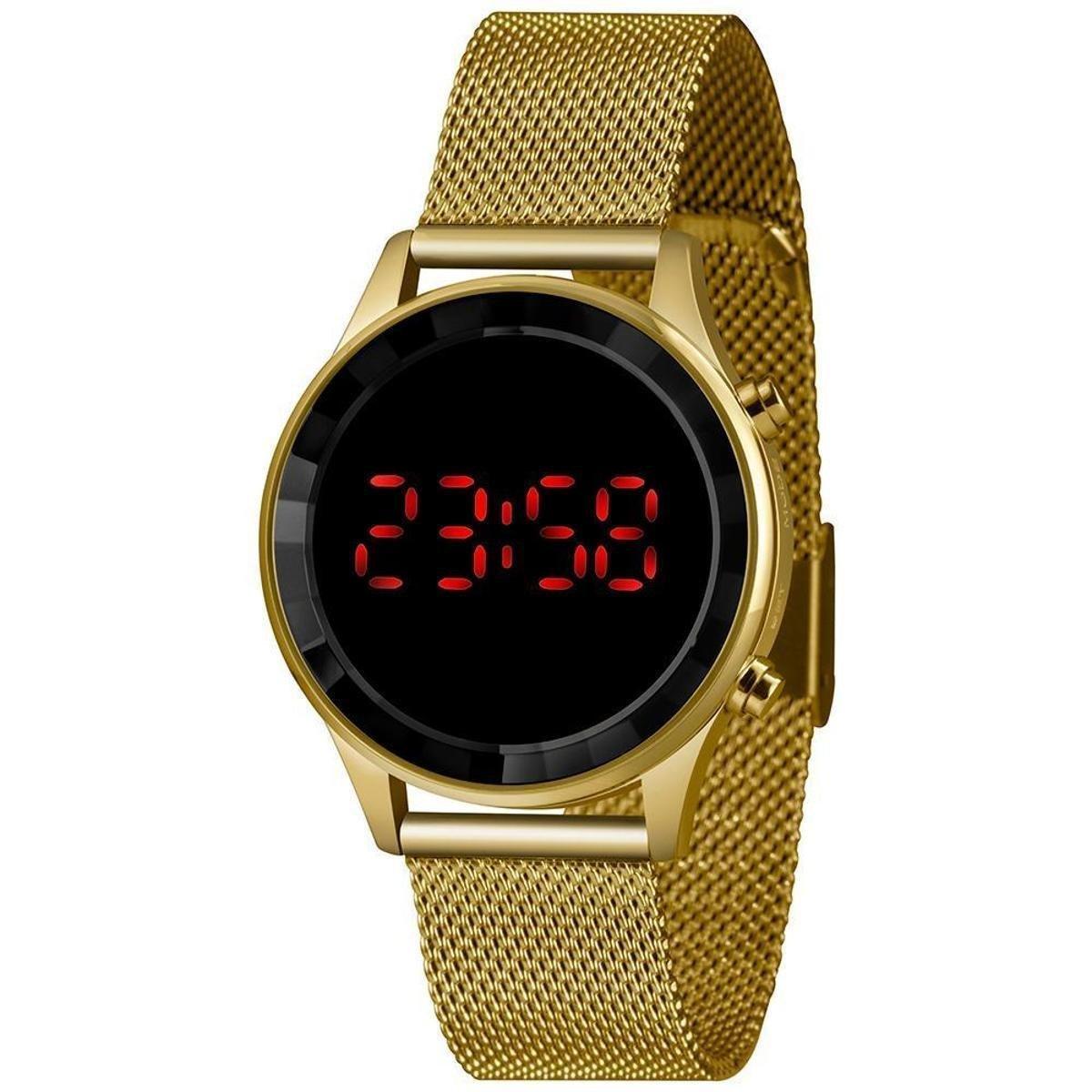 Relógio Feminino Styles Lince MDG4619L BXKX Dourado