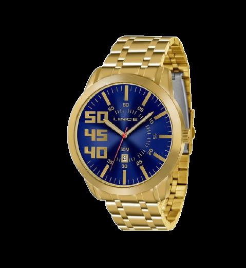 Relógio Lince Masculino MRG4332S D2KX Dourado