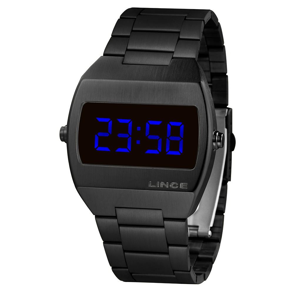 Relógio Masculino Lince MDN4621l DXPX Preto
