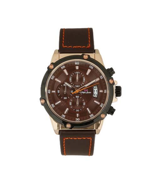 Relógio Masculino Cronógrafo Philiph London Marrom PL80028632M