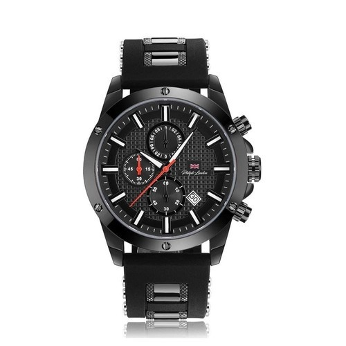 Relógio Masculino Cronógrafo Philiph London pl80069612m Pr Preto