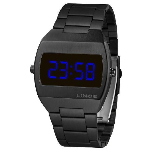 Relógio Masculino Digital Lince MDN4621l DXPX Preto