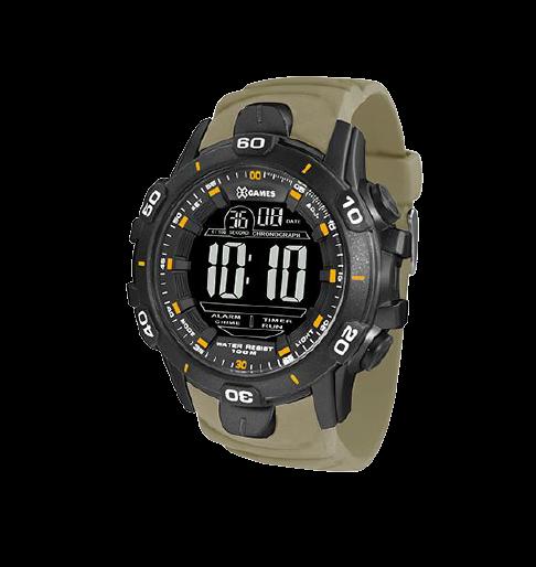 Relógio Masculino Digital Xtyle  X Games XMPPD414 PXFX Verde