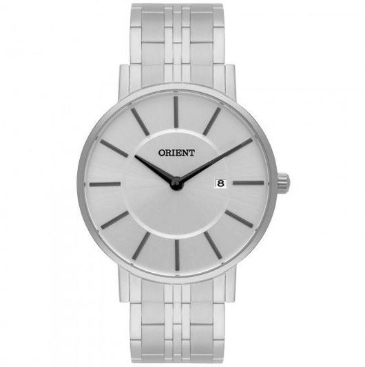 Relógio Masculino Eternal Orient MBSS1261 S1SX Prata