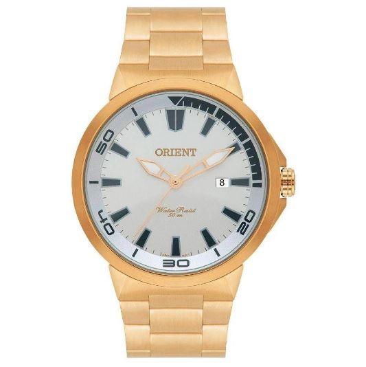 Relógio Masculino Orient MGSS1104A S1KX Dourado